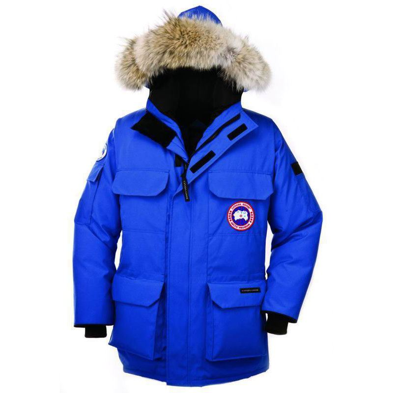 2018 Canada Goose Women s Expedition Parka Fusion Fit Blue Black Friday Sale cca30cccb
