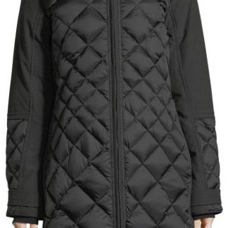 a98817bd5 Best Canada Goose Black Women's Blackcabot Down Diamond Quilted Parka Puffy  Ski Coat