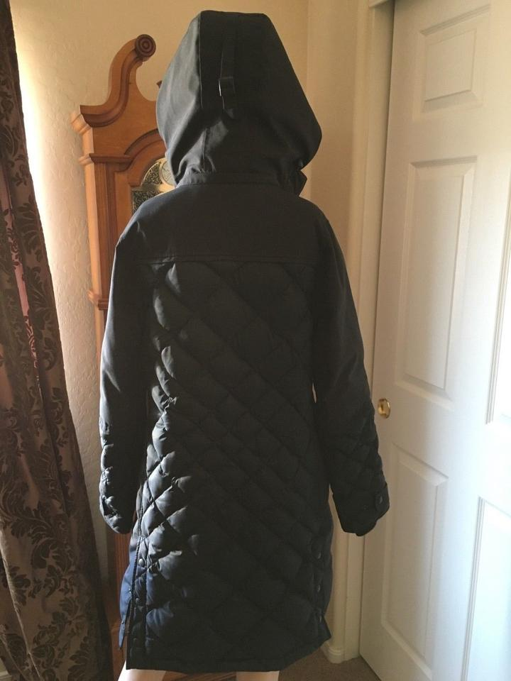 Best Canada Goose Black Women's Blackcabot Down Diamond Quilted Parka Puffy Ski Coat